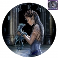 Water Dragon Clock (Anne Stokes)