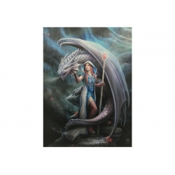 Dragon Made Canvas Print (Anne Stokes)