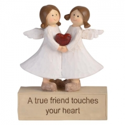 """True Friends"" Inspirational Adoring Angels"