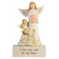 """Love & Family"" Inspirational Adoring Angels"