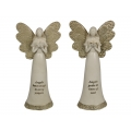 Angel with Gold Wings & Inspirational Message Dress (Large)