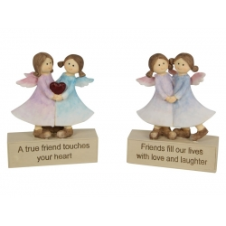 """Friends & Love"" Inspirational Adoring Angels"