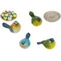 Marble Birds & Nest Display Pack