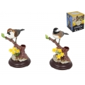 Singing & Moving Wren Bird Pen Holder