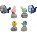 "Birds on ""Wording"" Rock & Metal House Display Pack"