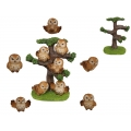Cute Owls on Tree Display Pack