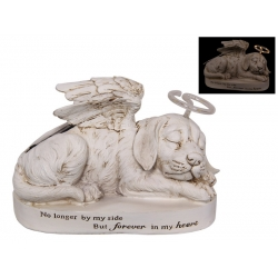 Dog Memorial Plaque with Light Up Halo