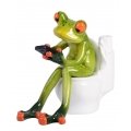 Marble Frog on Loo
