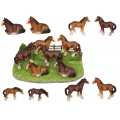 Clydesdale Horses & Farm Base Display Pack
