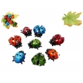 Marble Ladybugs & Leaf Display Pack