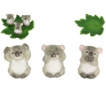 Koalas & Leaf Base Display Pack