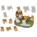 Cute Tiger Cubs & Jungle Base Display Pack