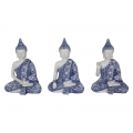 Blue Willow Rulai Buddha Meditating (Small)