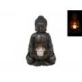 Rulai Buddha Lotus Flower Candle Holder