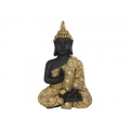 Rulai Buddha in Gold Robe Wall Plaque
