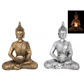 Meditating Thai Buddha Candle Holder