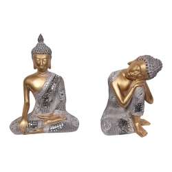 Classical Thai/Rulai Buddha in Silver Robe