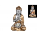 Praying Rulai Buddha Candle Holder