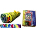 "4.5"" Tibetan Prayer Flags on Rope (5 Pack)"