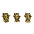 Gold/Brass Classical Wise Ganesh