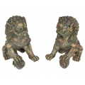Antique Lucky Chinese Temple Lion (Large)