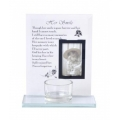 """Her Smile"" Memorial Plaque & Tealight Holder"