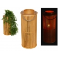 Bamboo Planter/Candle Holder Lantern (Large)
