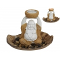 Happy Buddha Tealight Candle Holder