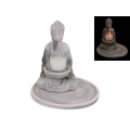 Marble Rulai Buddha Candle Holder