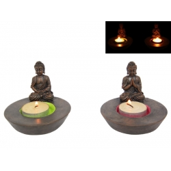 Buddha Candle Holder & Cone Burner