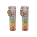 Seven Chakra & Luck Candle in Glass Jar