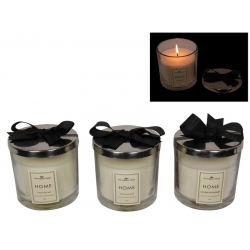 Home Scented Candle in Glass Gift Jar (Large)