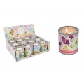 Bird Design Scented Tin Candle