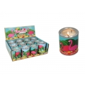 Flamingo Design Scented Tin Candle