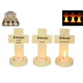 Inspirational Cross Tealight Holder