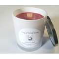 Handmade 100% Soy Candle with Wood Wick (Moroccan Amber)