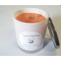 Handmade 100% Soy Candle with Wood Wick (Mandarin Frankincense)