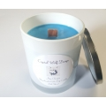 Handmade 100% Soy Candle with Wood Wick (Nag Champa)