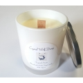 Handmade 100% Soy Candle with Wood Wick (Tropical Storm)