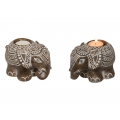 African Elephant Candle Holder