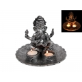 Ganesh Lotus Design Candle Holder