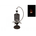 Metal Spinning Candelabra with Butterfly (Bronze)