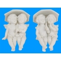 Cherub Twins Shelf Sitter