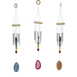 Agate & Chakra Stones Wind Chime