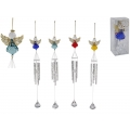 Acrylic Angel Wind Chime in Gift Box