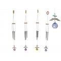 Angel Wings Crystal Ball Suncatcher & Wind Chime