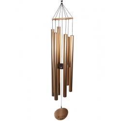Aureole Tuned Wind Chime (Rose Gold)