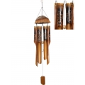 Bamboo Turtle Design Coconut Top Wind Chime