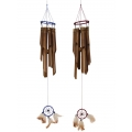 Bamboo Dream Catcher Wind Chime