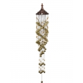 100 Brass Bells Spiral Wind Chime (Large)